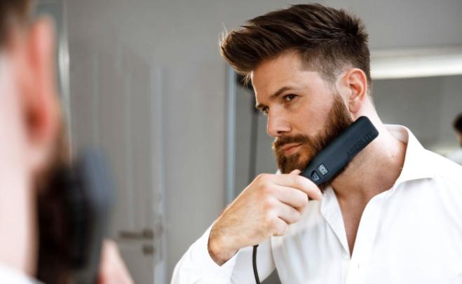 Piastra da barba e capelli